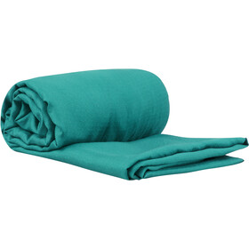 Sea to Summit Silk Stretch Liner Traveller with Pillow Slip sea foam
